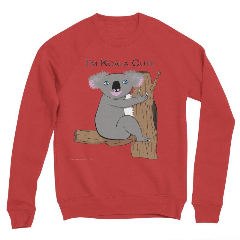 I'm Koala Cute Men's Sponge Fleece Sweatshirt by Every Drop's An Idea's Artist Shop