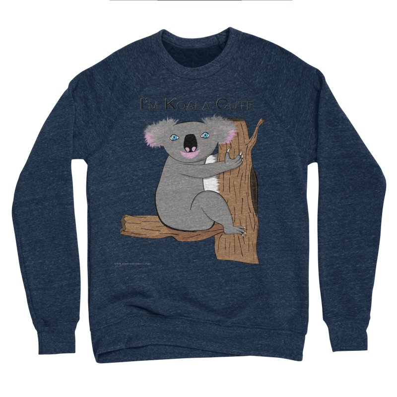 I'm Koala Cute Women's Sponge Fleece Sweatshirt by Every Drop's An Idea's Artist Shop