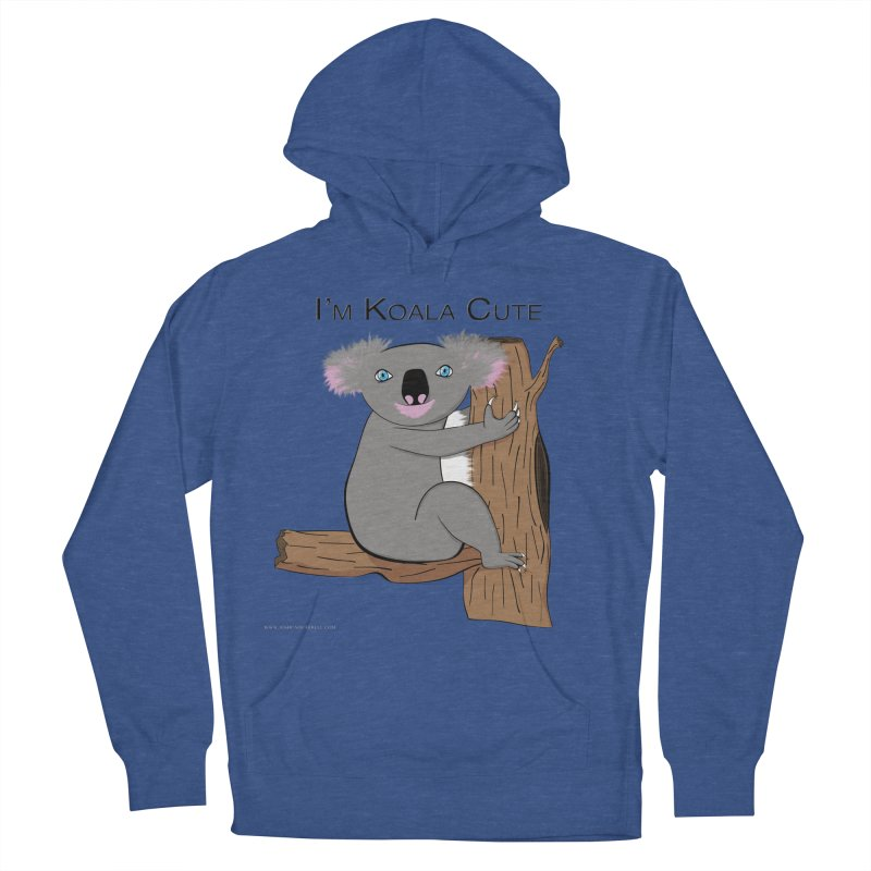 I'm Koala Cute Women's French Terry Pullover Hoody by Every Drop's An Idea's Artist Shop