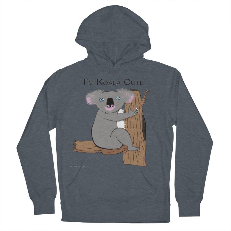 I'm Koala Cute Women's French Terry Pullover Hoody by Every Drop's An Idea's Artist Shop