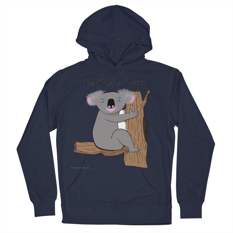 I'm Koala Cute Men's French Terry Pullover Hoody by Every Drop's An Idea's Artist Shop
