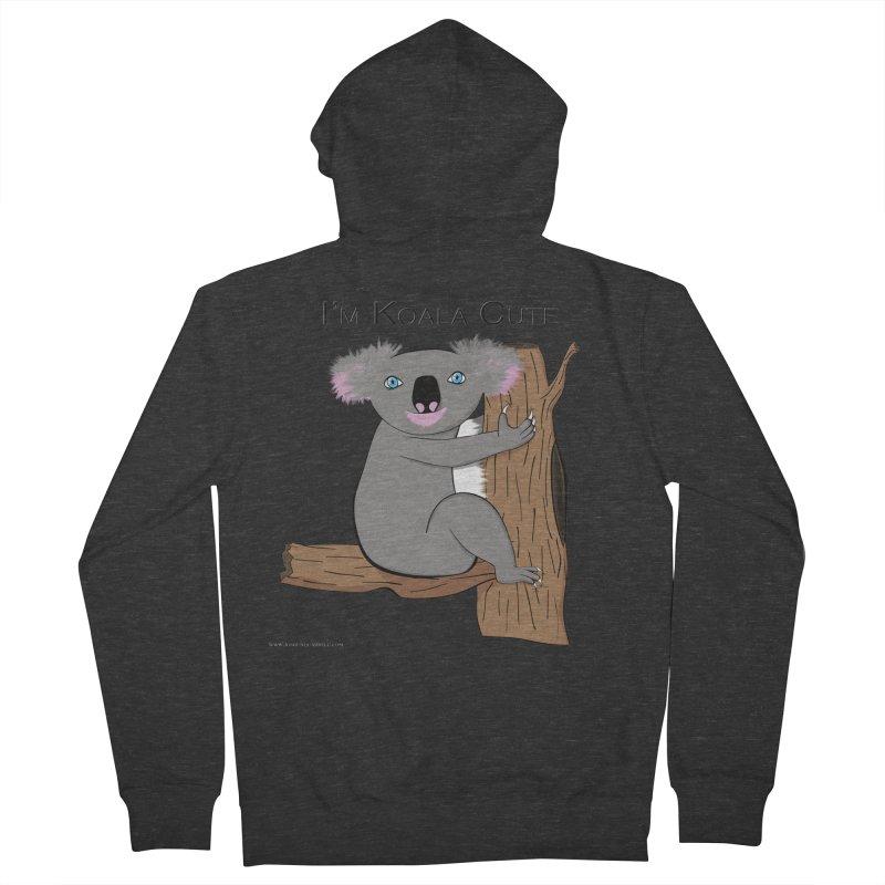 I'm Koala Cute Women's French Terry Zip-Up Hoody by Every Drop's An Idea's Artist Shop