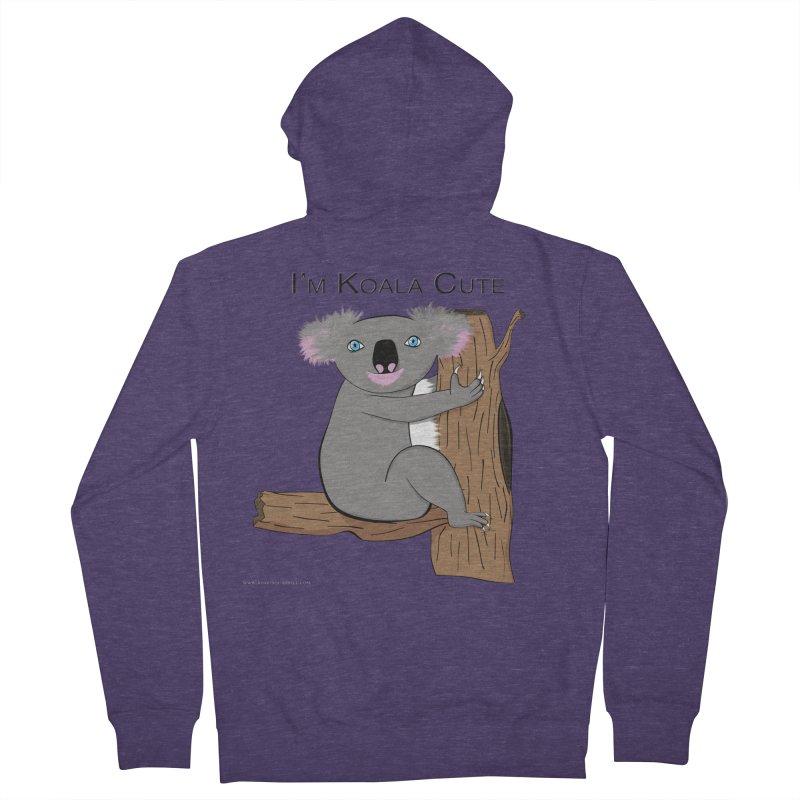 I'm Koala Cute Men's Zip-Up Hoody by Every Drop's An Idea's Artist Shop