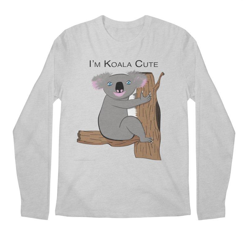 I'm Koala Cute Men's Regular Longsleeve T-Shirt by Every Drop's An Idea's Artist Shop