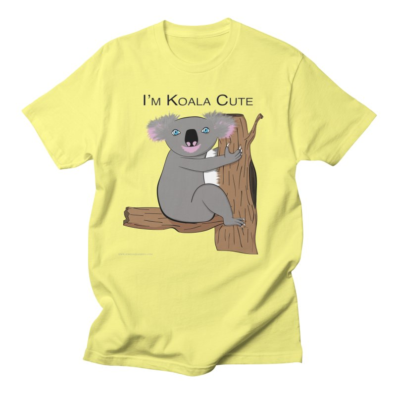 I'm Koala Cute Men's Regular T-Shirt by Every Drop's An Idea's Artist Shop