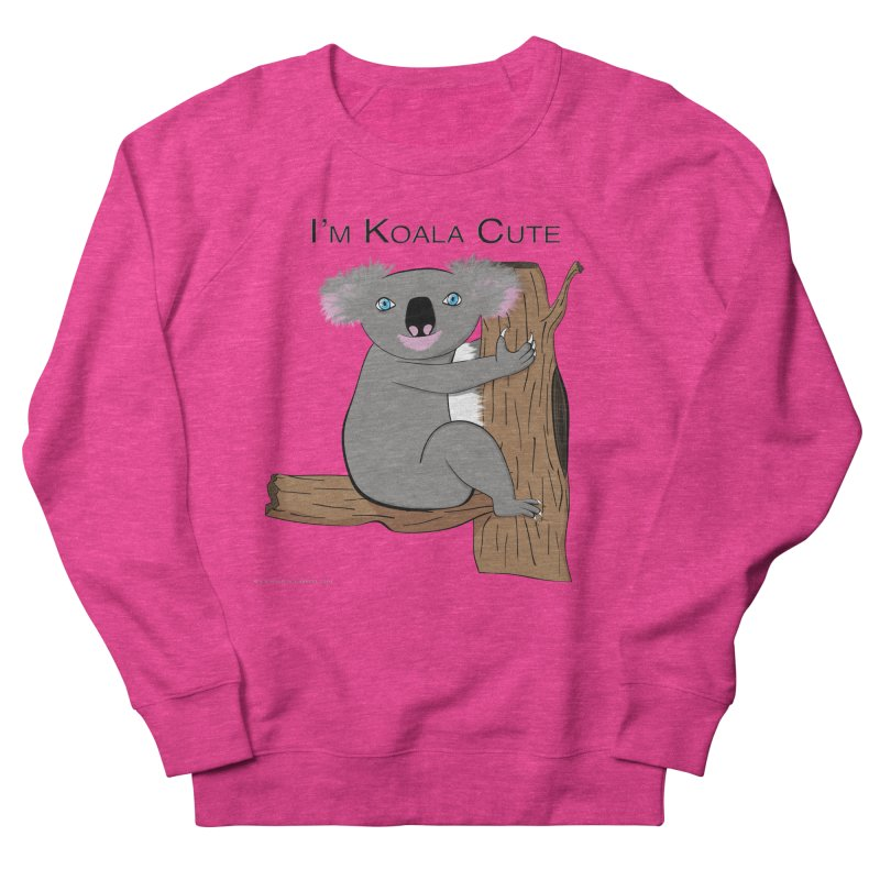 I'm Koala Cute Men's French Terry Sweatshirt by Every Drop's An Idea's Artist Shop