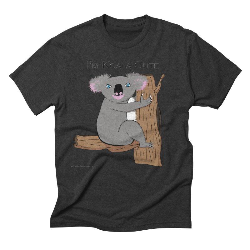 I'm Koala Cute Men's Triblend T-Shirt by Every Drop's An Idea's Artist Shop