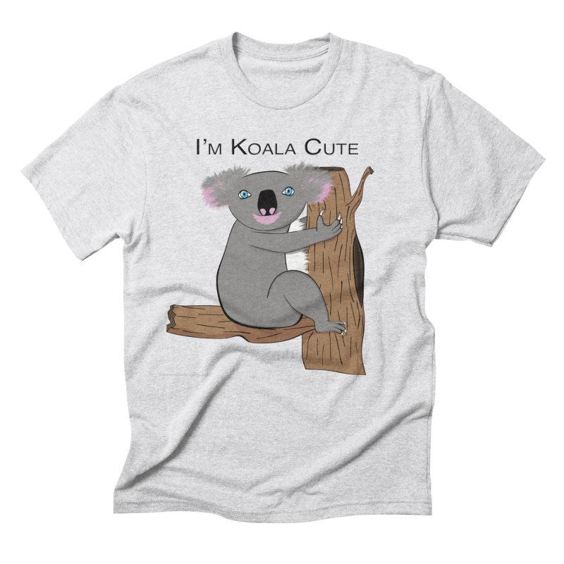 I'm Koala Cute Men's Triblend T-Shirt by Every Drop's An Idea's Artist Shop