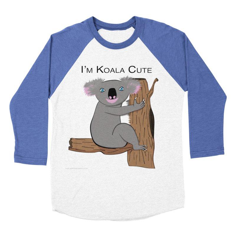 I'm Koala Cute Women's Baseball Triblend Longsleeve T-Shirt by Every Drop's An Idea's Artist Shop