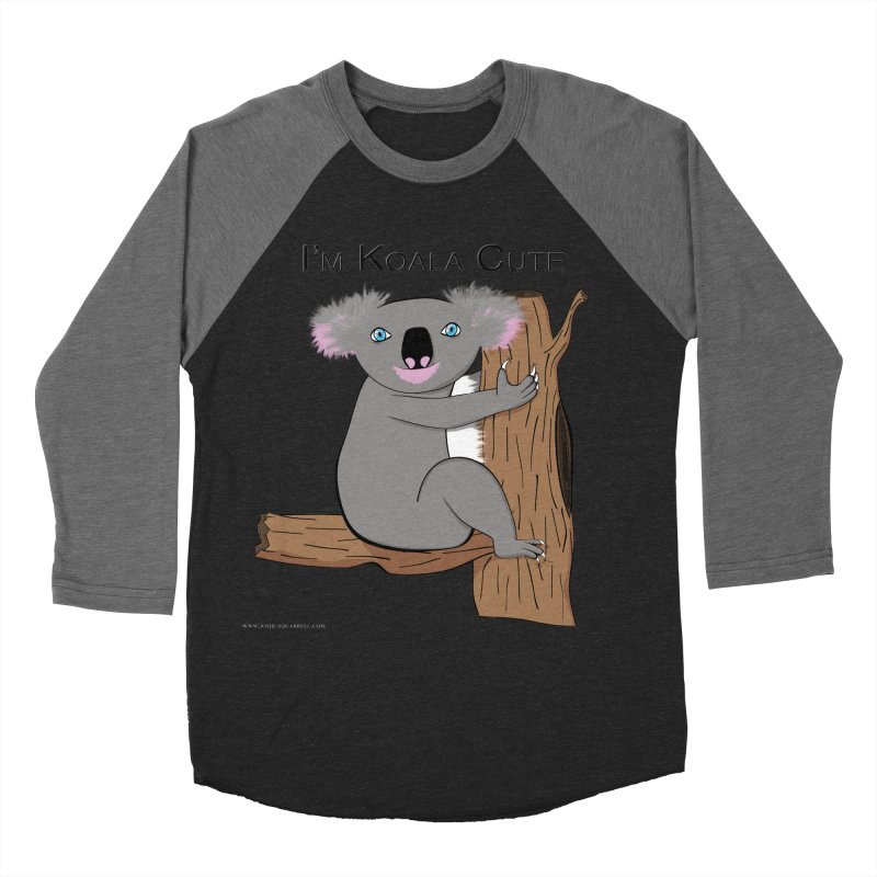 I'm Koala Cute Men's Baseball Triblend Longsleeve T-Shirt by Every Drop's An Idea's Artist Shop