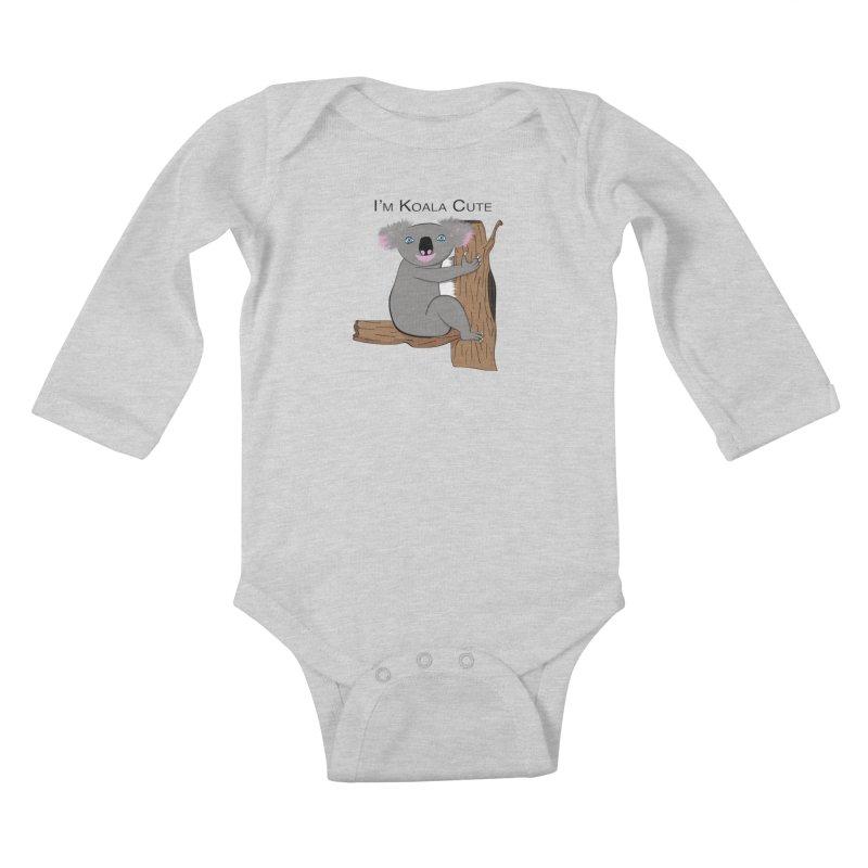 I'm Koala Cute Kids Baby Longsleeve Bodysuit by Every Drop's An Idea's Artist Shop