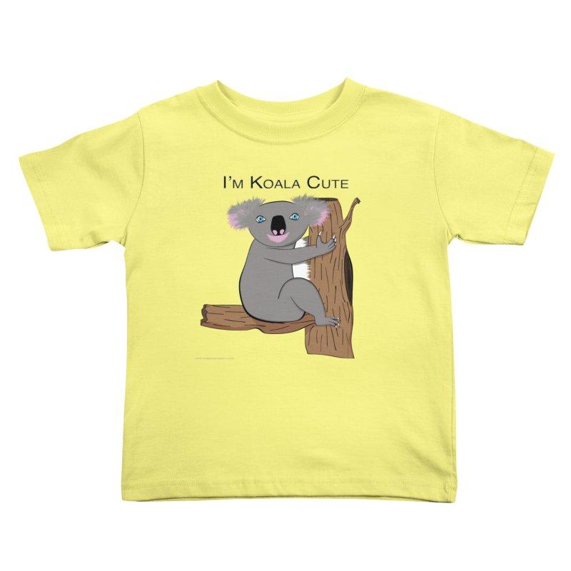 I'm Koala Cute Kids Toddler T-Shirt by Every Drop's An Idea's Artist Shop