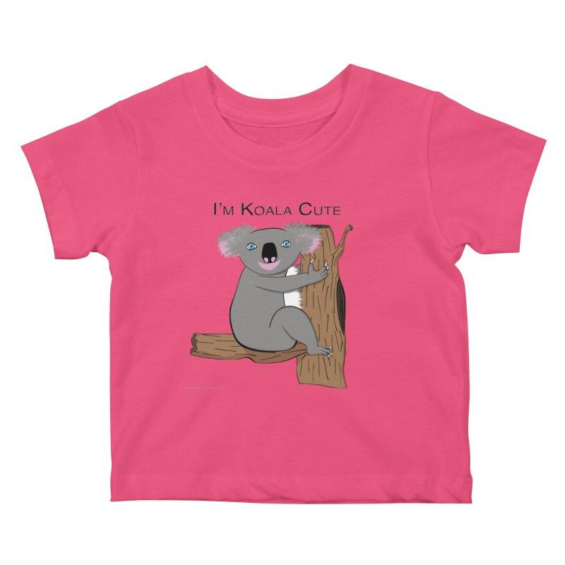 I'm Koala Cute Kids Baby T-Shirt by Every Drop's An Idea's Artist Shop