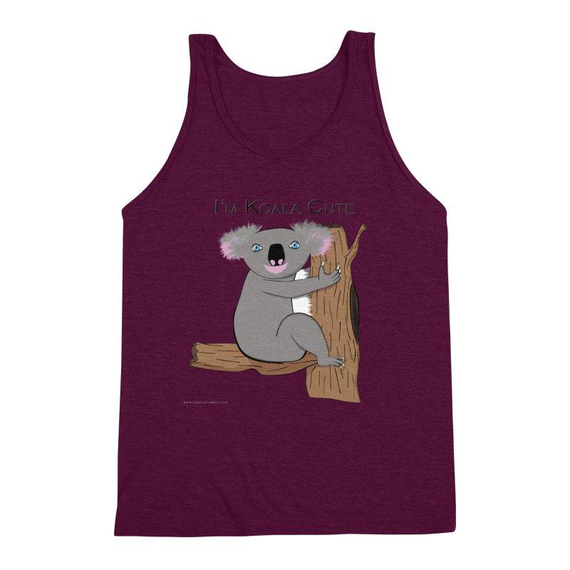 I'm Koala Cute Men's Triblend Tank by Every Drop's An Idea's Artist Shop