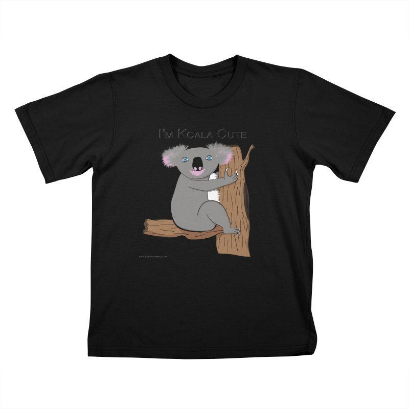 I'm Koala Cute Kids T-Shirt by Every Drop's An Idea's Artist Shop
