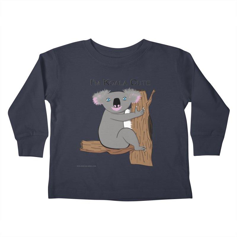 I'm Koala Cute Kids Toddler Longsleeve T-Shirt by Every Drop's An Idea's Artist Shop