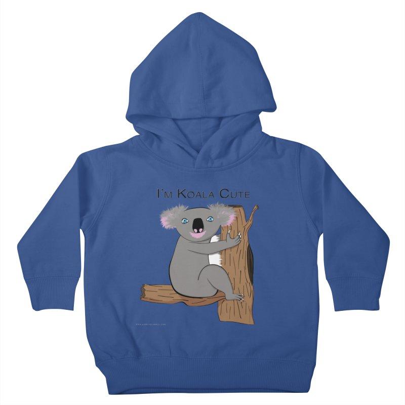 I'm Koala Cute Kids Toddler Pullover Hoody by Every Drop's An Idea's Artist Shop