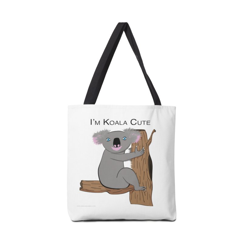 I'm Koala Cute Accessories Bag by Every Drop's An Idea's Artist Shop