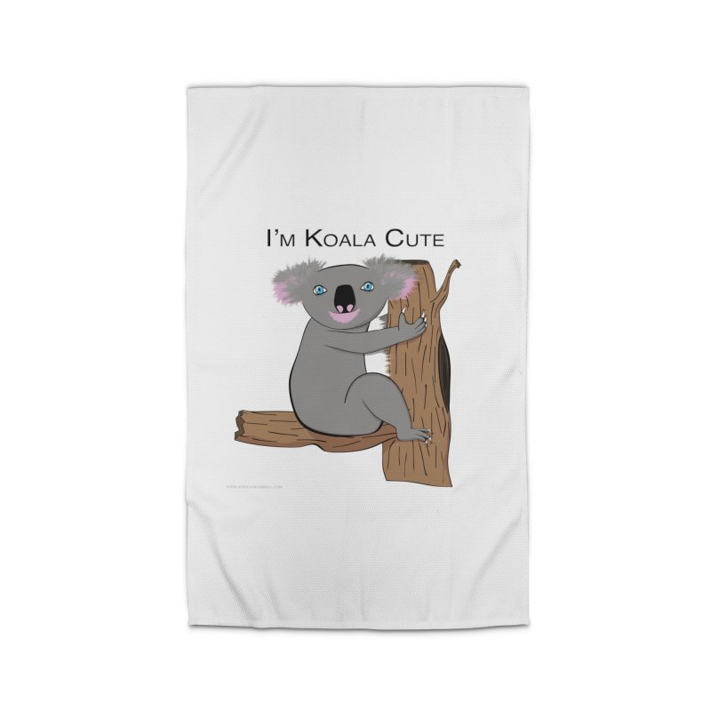 I'm Koala Cute Home Rug by Every Drop's An Idea's Artist Shop