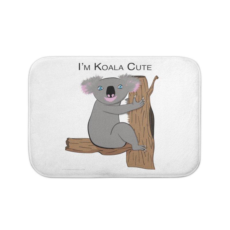 I'm Koala Cute Home Bath Mat by Every Drop's An Idea's Artist Shop