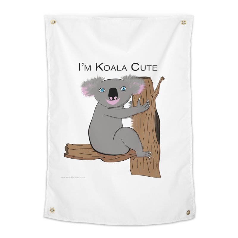 I'm Koala Cute Home Tapestry by Every Drop's An Idea's Artist Shop