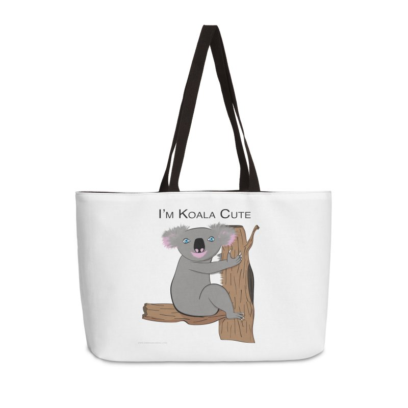 I'm Koala Cute Accessories Weekender Bag Bag by Every Drop's An Idea's Artist Shop