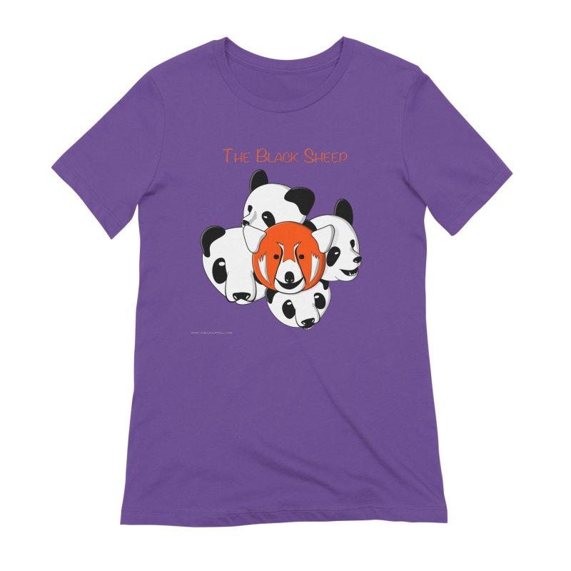 The Black Sheep Women's Extra Soft T-Shirt by Every Drop's An Idea's Artist Shop