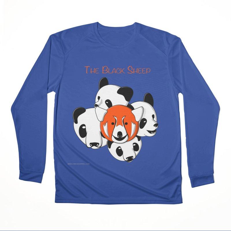The Black Sheep Men's Performance Longsleeve T-Shirt by Every Drop's An Idea's Artist Shop