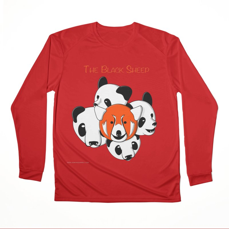 The Black Sheep Women's Performance Unisex Longsleeve T-Shirt by Every Drop's An Idea's Artist Shop