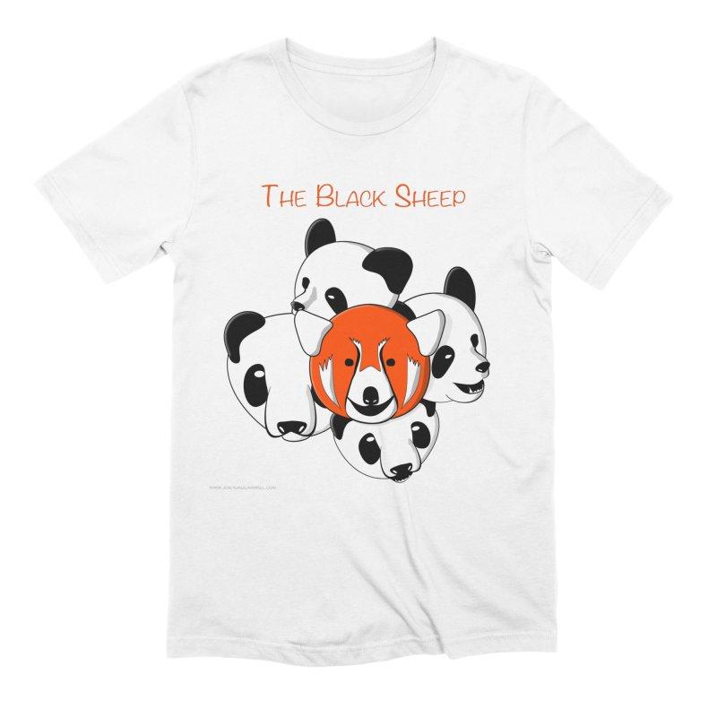 The Black Sheep Men's Extra Soft T-Shirt by Every Drop's An Idea's Artist Shop
