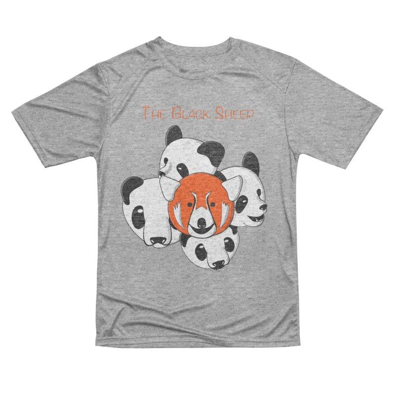 The Black Sheep Women's Performance Unisex T-Shirt by Every Drop's An Idea's Artist Shop