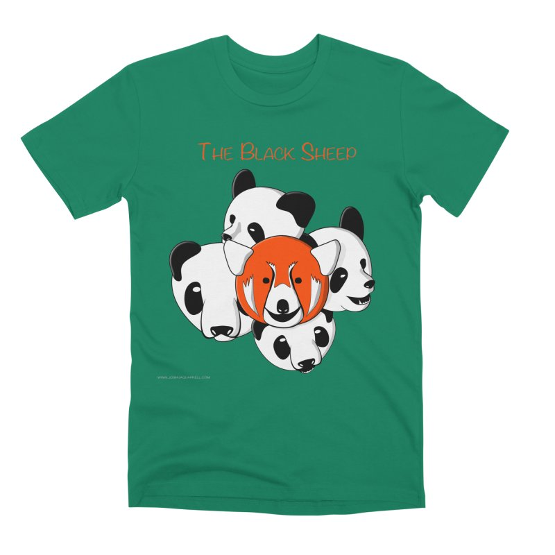 The Black Sheep Men's T-Shirt by Every Drop's An Idea's Artist Shop