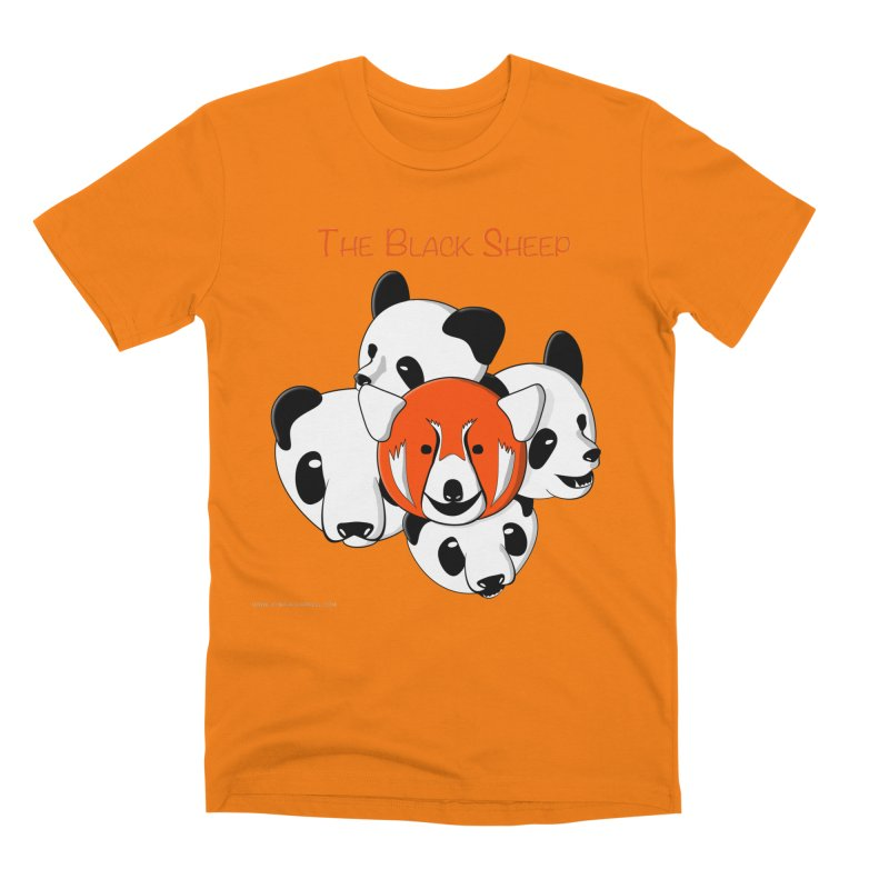 The Black Sheep Men's Premium T-Shirt by Every Drop's An Idea's Artist Shop