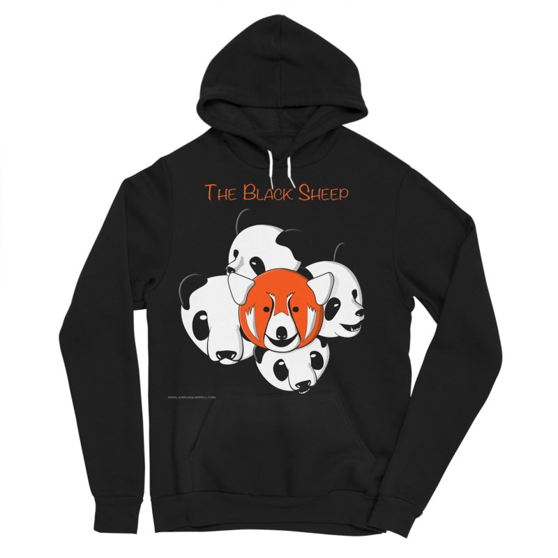 The Black Sheep Men's Sponge Fleece Pullover Hoody by Every Drop's An Idea's Artist Shop