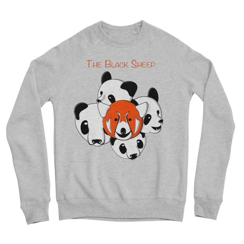 The Black Sheep Men's Sponge Fleece Sweatshirt by Every Drop's An Idea's Artist Shop