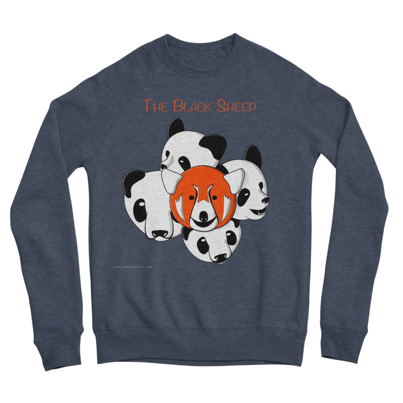 The Black Sheep Women's Sponge Fleece Sweatshirt by Every Drop's An Idea's Artist Shop