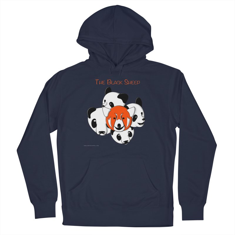 The Black Sheep Men's Pullover Hoody by Every Drop's An Idea's Artist Shop