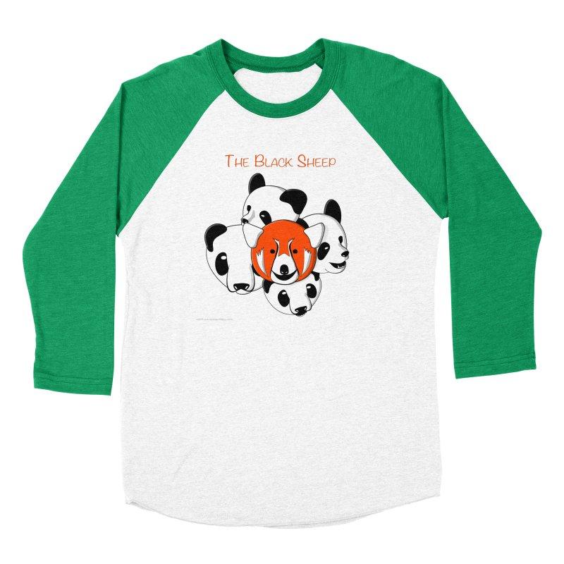 The Black Sheep Men's Baseball Triblend Longsleeve T-Shirt by Every Drop's An Idea's Artist Shop