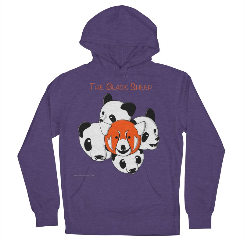 The Black Sheep Men's French Terry Pullover Hoody by Every Drop's An Idea's Artist Shop
