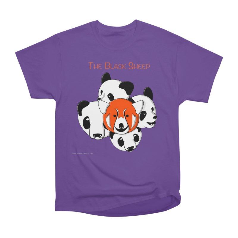 The Black Sheep Women's Heavyweight Unisex T-Shirt by Every Drop's An Idea's Artist Shop
