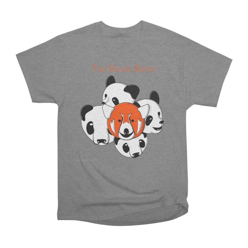 The Black Sheep Men's Heavyweight T-Shirt by Every Drop's An Idea's Artist Shop