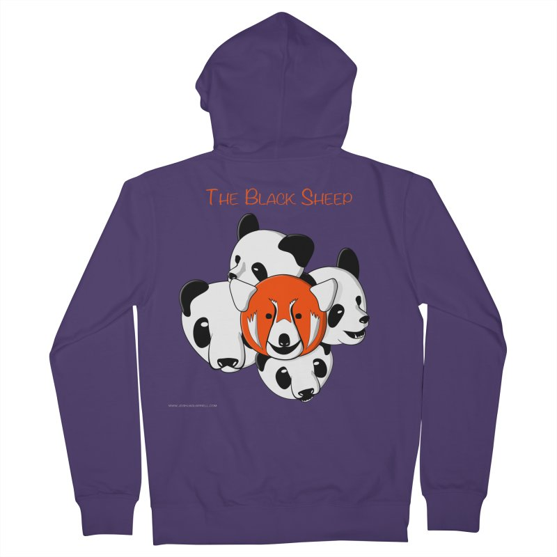 The Black Sheep Women's French Terry Zip-Up Hoody by Every Drop's An Idea's Artist Shop