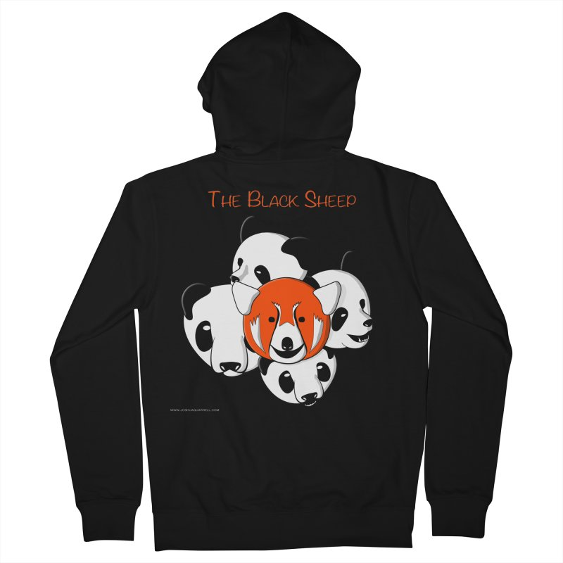 The Black Sheep Men's French Terry Zip-Up Hoody by Every Drop's An Idea's Artist Shop