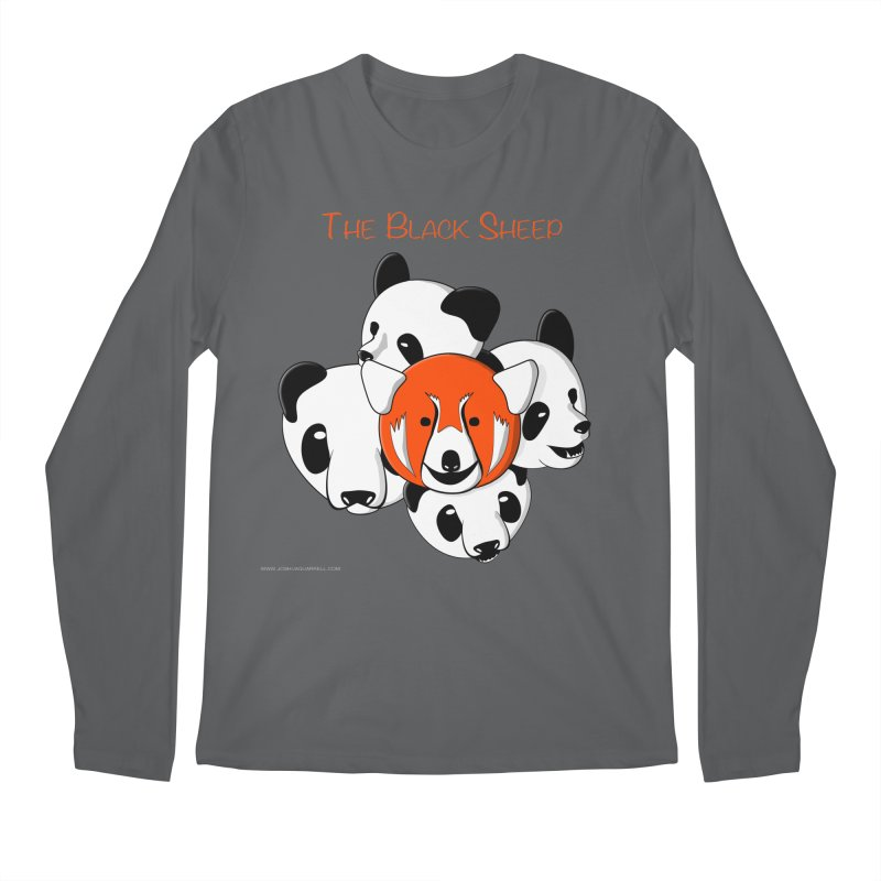 The Black Sheep Men's Longsleeve T-Shirt by Every Drop's An Idea's Artist Shop