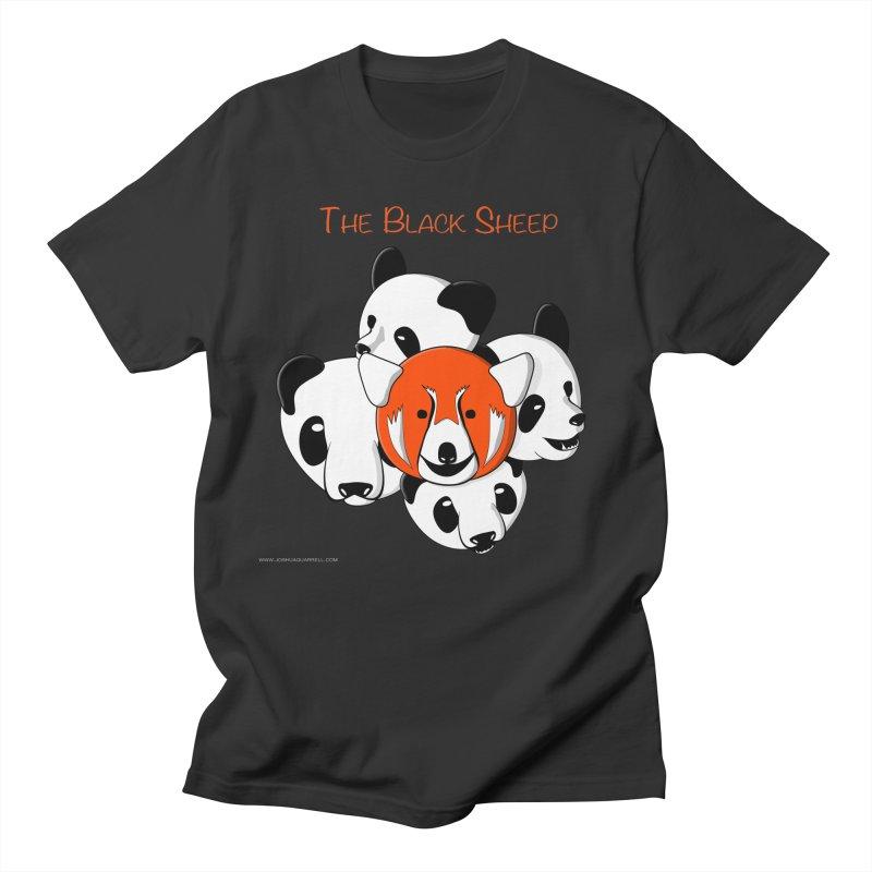 The Black Sheep Men's Regular T-Shirt by Every Drop's An Idea's Artist Shop