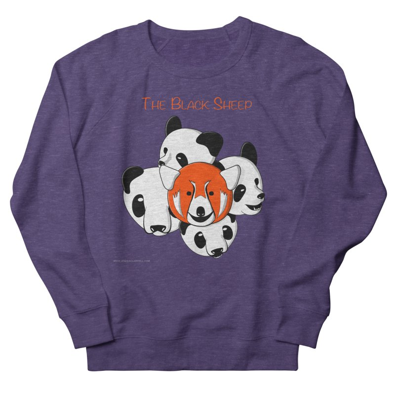 The Black Sheep Women's French Terry Sweatshirt by Every Drop's An Idea's Artist Shop