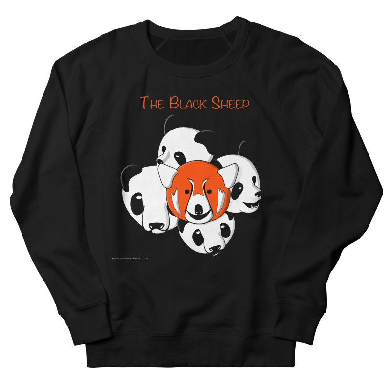 The Black Sheep Men's French Terry Sweatshirt by Every Drop's An Idea's Artist Shop