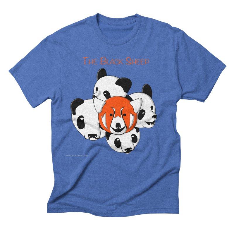 The Black Sheep Men's Triblend T-Shirt by Every Drop's An Idea's Artist Shop