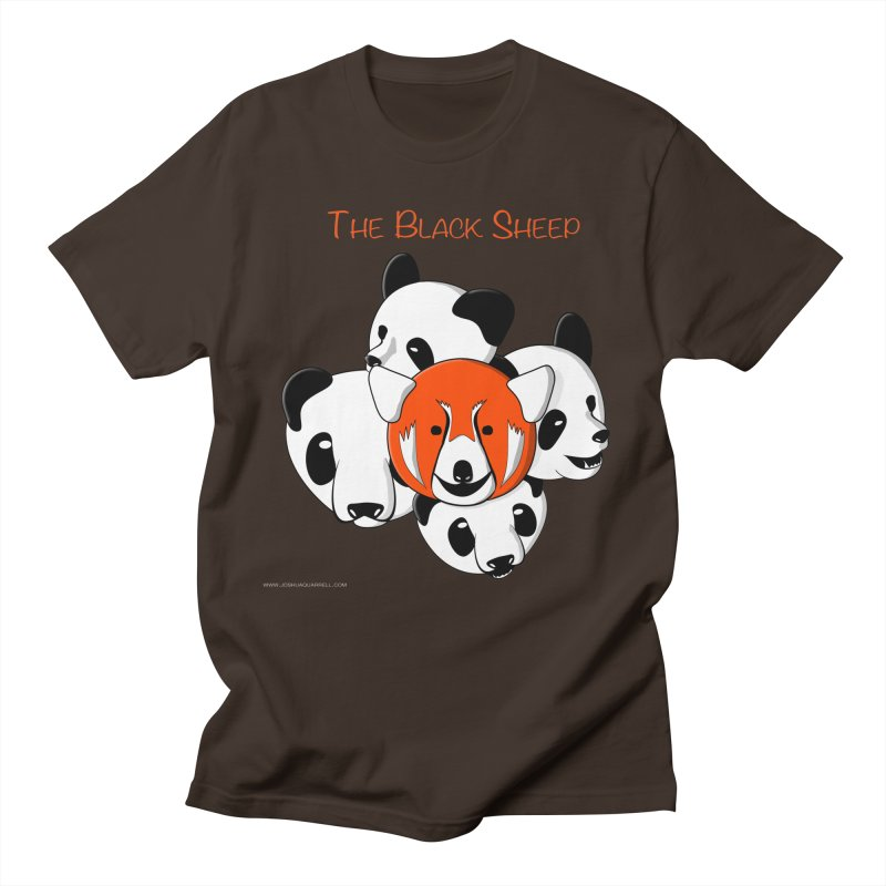 The Black Sheep Men's Regular T-Shirt by Every Drop's An Idea's Artist Shop
