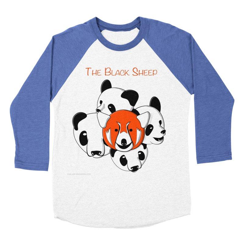 The Black Sheep Women's Baseball Triblend Longsleeve T-Shirt by Every Drop's An Idea's Artist Shop